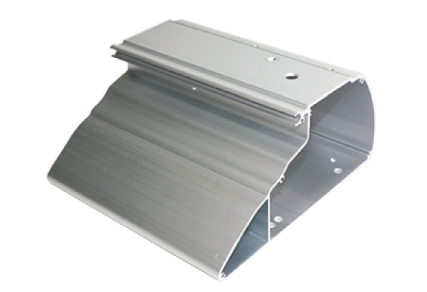 The body is made from a single piece of solid aluminum. The aluminum table can be easily cleaned to maintain a spotless work space.