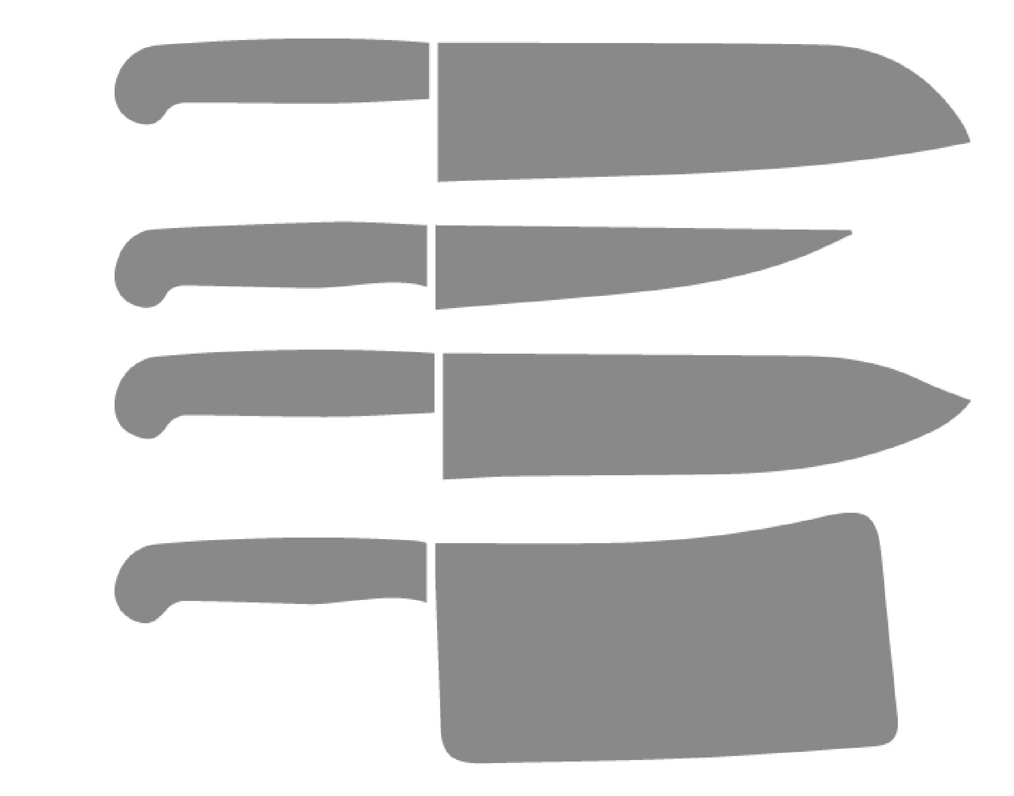 ・Stainless kitchen knife<br /> ・ Kitchen knife made of iron and steel<br /> ・Titanium kitchen knife<br /> ・Broad-blade kitchen knife<br /> ・Slender kitchen knife for sashimi cutting<br />